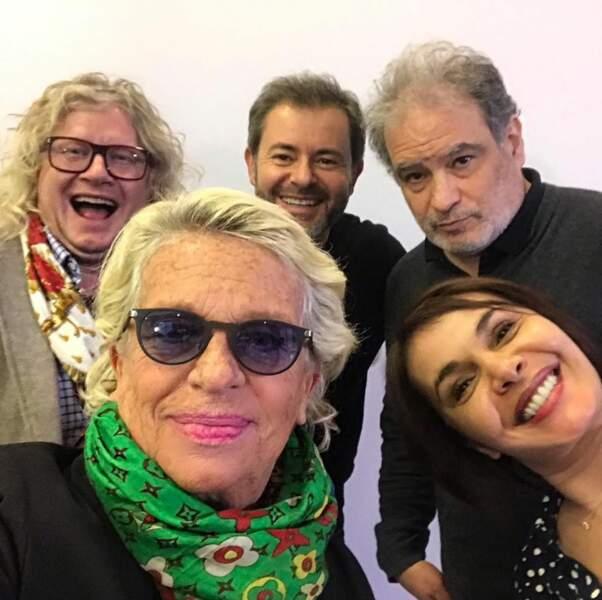 Ici pour Enfants stars et match, à Cannes avec Jérôme Anthony, Raphael Mezrahi et Véronique (sans Davina) !