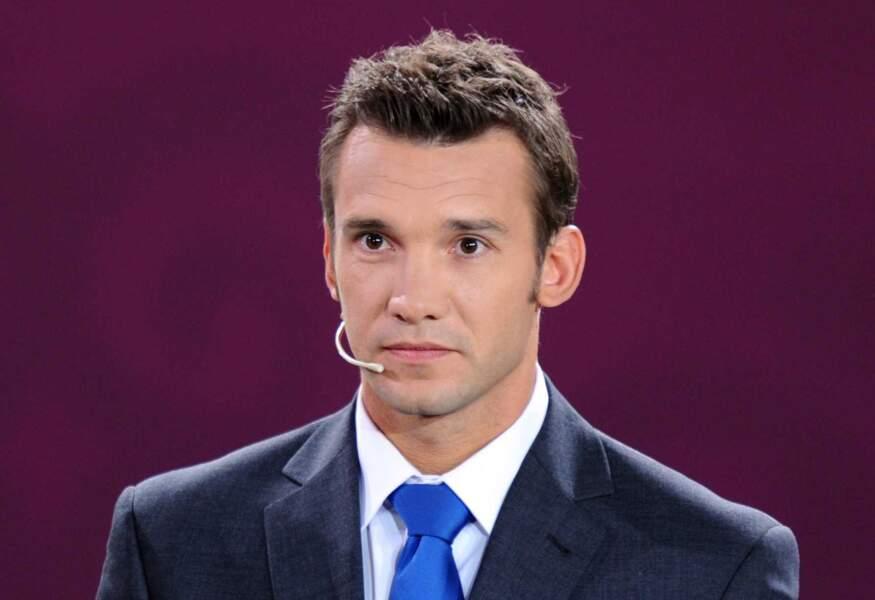 Andrei Shevchenko s'est présenté aux législatives 2012 en Ukraine et a récolté 2% des suffrages