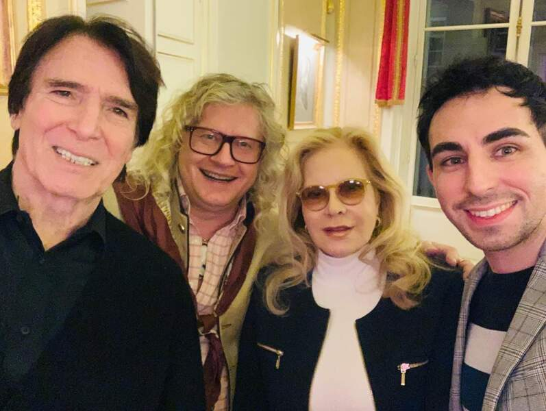 ... ou encore Sylvie Vartan et son époux Tony Scotti !