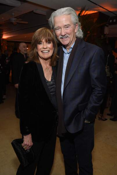 Linda Gray et Patrick Duffy de Dallas