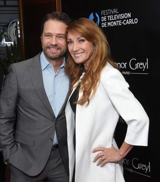 Jason Priestley (Beverly Hills) et Jane Seymour (Docteur Quinn, femme médecin)
