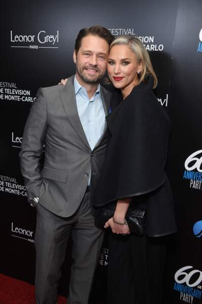 Jason Priestley (Beverly Hills) et sa femme, Naomi Lowde
