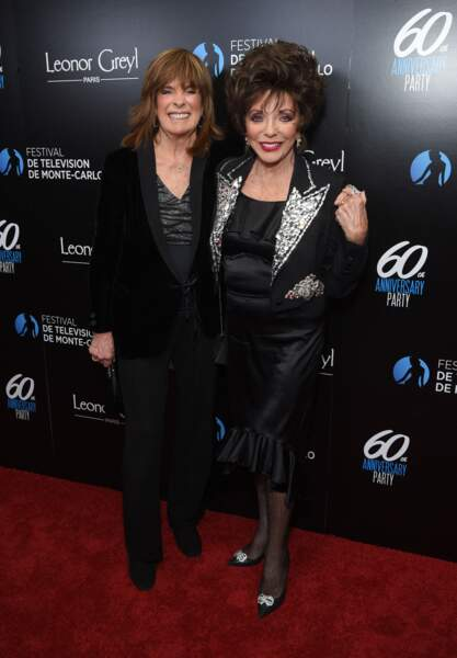 Linda Gray (Dallas) et Joan Collins (Dynastie)