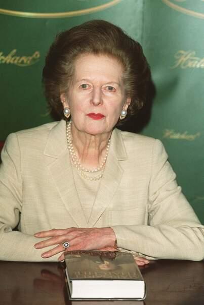 Margaret Thatcher, Premier ministre britannique des années 1980, fera partie de l'intrigue de la saison 4 de The Crown