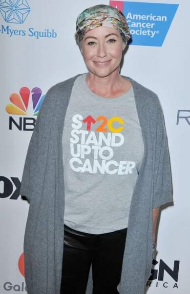 Pendant sa maladie, Shannen Doherty ne cesse de faire de la prévention