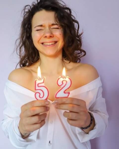 On souhaite un très joyeux 25e anniversaire à Juju Fitcats.