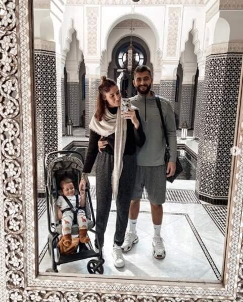 Jesta Hillman et sa famille à Marrakech.