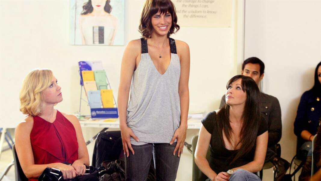 En 2008, Shannen Doherty reprend son rôle de Brenda dans le reboot de Beverly Hills