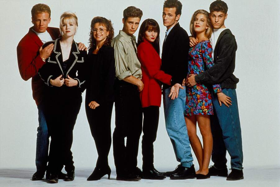 Mais c'est surtout la série des années 1990 Beverly Hills qui a fait d'elle une star