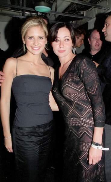 L'actrice a pu compter sur le soutien de sa grande amie, Sarah Michelle Gellar !