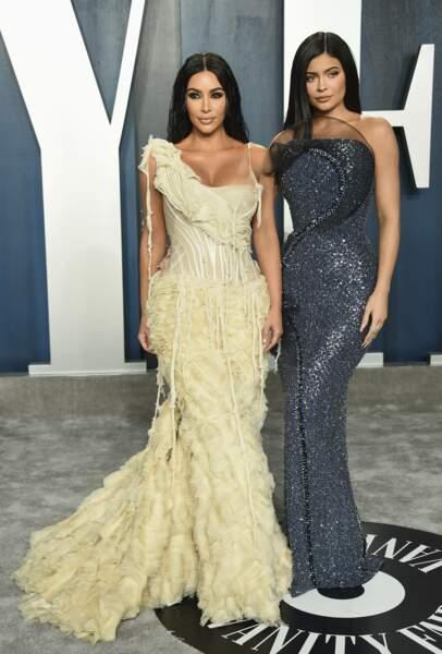 Kim Kardashian et Kylie Jenner