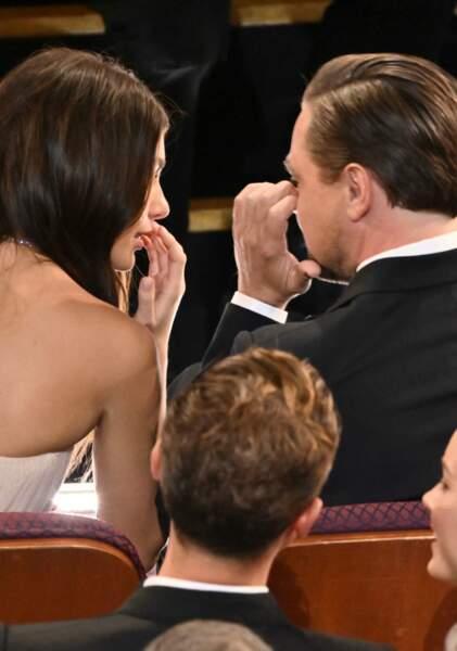 Cela faisait 15 ans que l'acteur n'avait pas emmené une de ses petites amies à une cérémonie de remise de prix