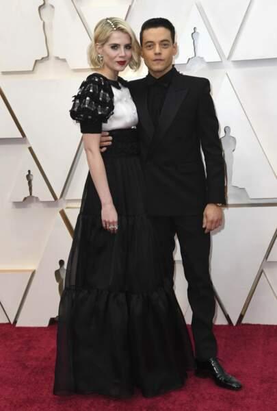 Lucy Boynton et Rami Malek