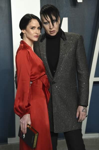 Lindsay Usich et Marilyn Manson