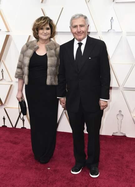 Amy Pascal et Bernard Weinraub
