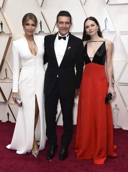 Nicole Kimpel, Antonio Banderas et Stella Banderas