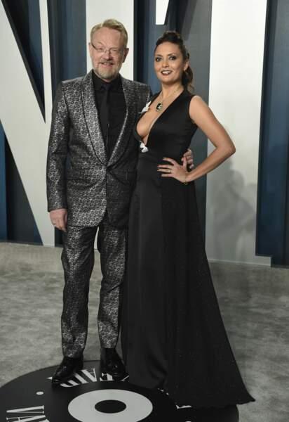 Jared Harris et Allegra Riggio