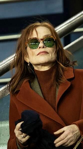 Mais l'acteur n'a pas échappé au radar d'Isabelle Huppert !