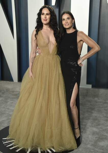 Rumer Willis et Demi Moore