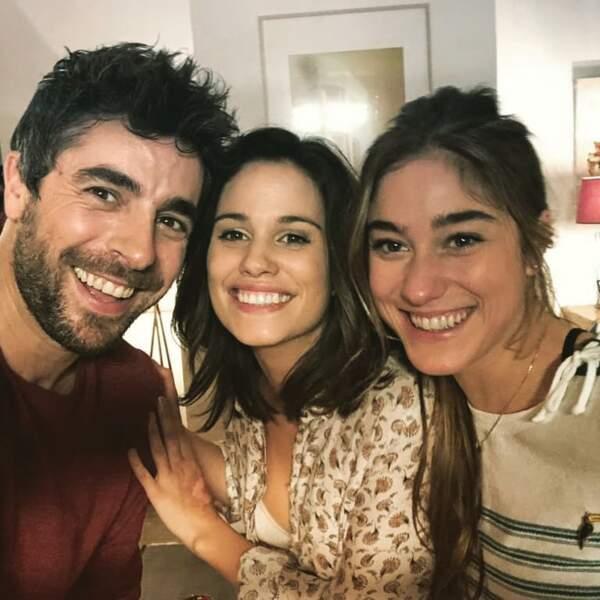 Et la famille s'est étoffée au fil des saisons, avec l'arrivée de nouveaux acteurs, comme Agustin Galiana et Joséphine Berry