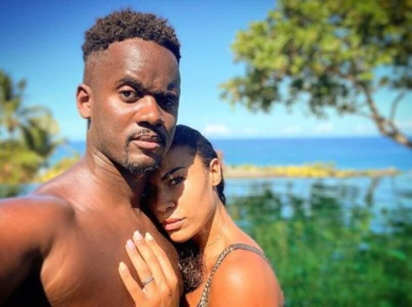 Avec ce cliché, Black M a annoncé ses 10 ans d'amour avec sa dulcinée Léa Djadja.