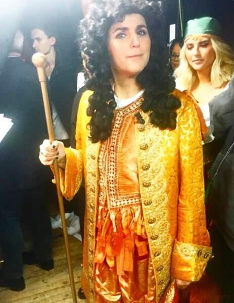 Valérie Bénaïm aime décidément beaucoup se déguiser !