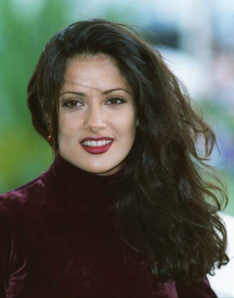 Salma Hayek à ses débuts