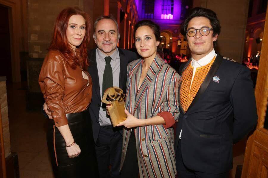 Audrey Fleurot, Antoine Dulery, Julie de Bona et Aurélien Wiik