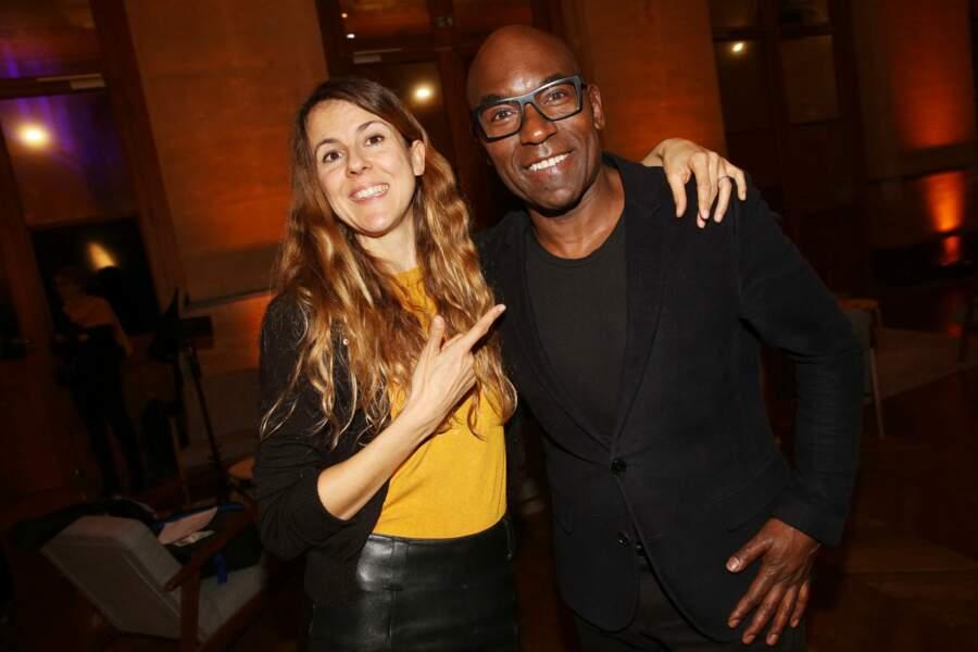 Nicole Ferroni et Lucien Jean-Baptiste