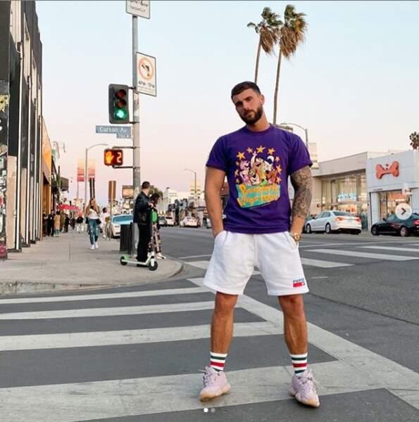 Illan (Les Anges 12) est de passage à Los Angeles