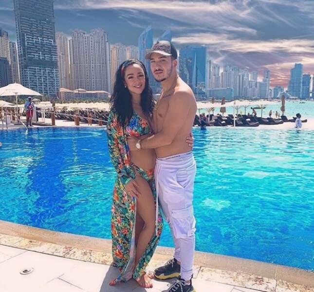 Les deux amoureux semblent très heureux à Dubaï