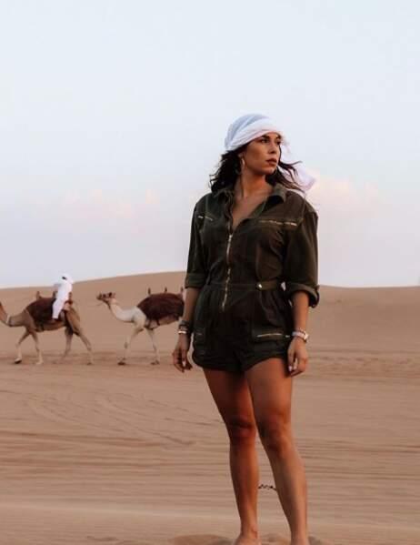 Stéphanie Durant vit elle aussi à Dubaï avec son chéri Théo
