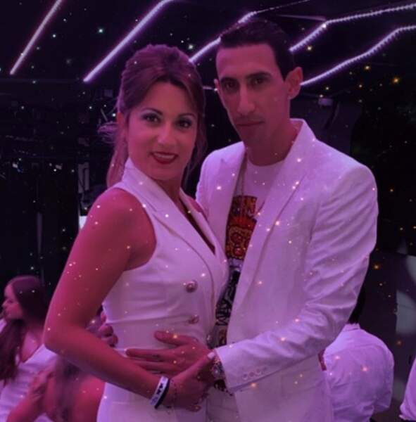 Elle est en couple avec Angel Di Maria