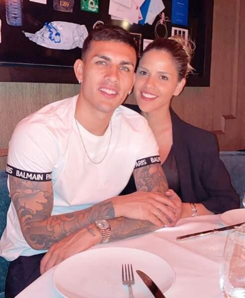 Elle est en couple avec Leandro Paredes