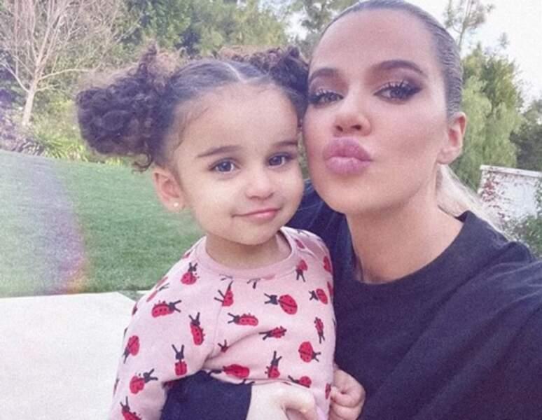 ... Dream, nièce de Khloé, Kim et Kourtney Kardashian...