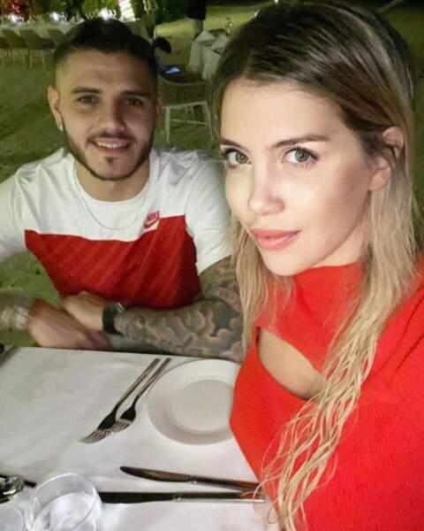 Elle est en couple avec Mauro icardi