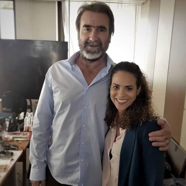 Le sport, sa grande passion, lui a permis de rencontrer des figures du milieu, comme Eric Cantona