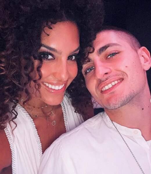 Elle est en couple avec Marco Verratti