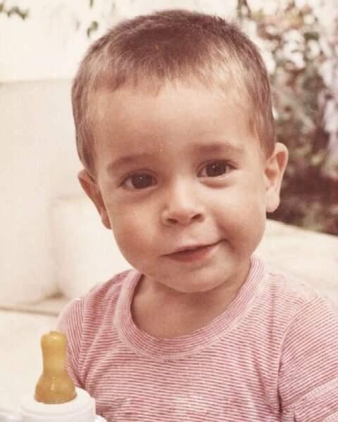 D'ailleurs, enfant, il était déjà trop mignon