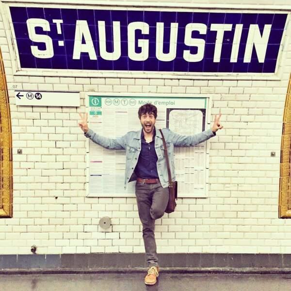 Surtout qu'une station de métro porte son prénom