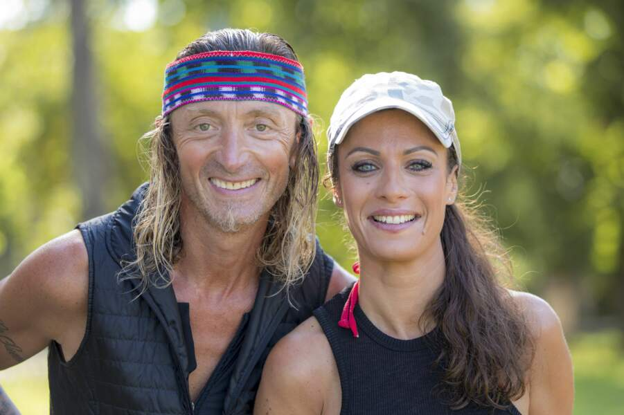 Fabrice et Ingrid forment le binôme d'inconnus pour cette saison All-Stars