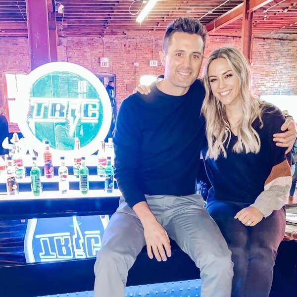 Stephen Colletti (Chase) et Jana Kramer heureux de se retrouver au Tric