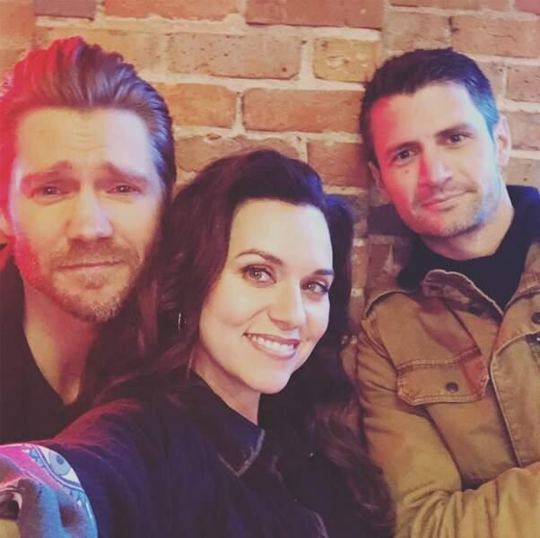 Chad Michael Murray, Hilarie Burton et James Lafferty… Un trio d'enfer !