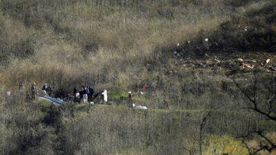Mort de Kobe Bryant : des policiers ont dévoilé de nouvelles photos de la scène du crash