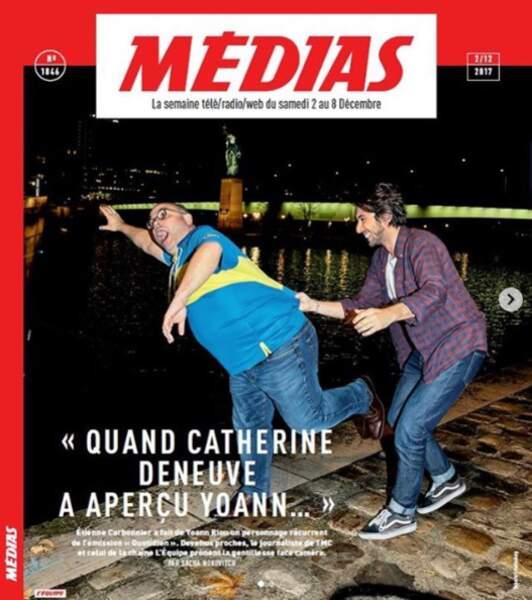 Un article de L'Équipe lui est consacré, à lui et à Yoann Riou, journaliste de la chaîne L'Équipe, sur lequel Étienne Carbonnier a plus ou moins mis un coup de projecteur avec ses chroniques de Quotidien.