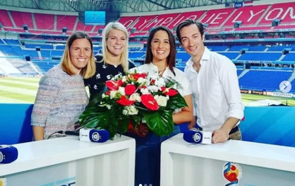 Avant de tirer sa révérence en 2019 de Téléfoot (TF1)