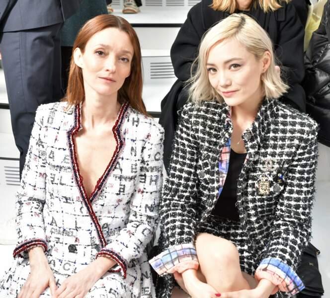 L'ex mannequin Audrey Marnay et l'actrice Pom Klementieff (Avengers)