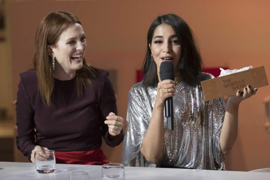 Avec Julianne Moore au Festival de Cannes 2018