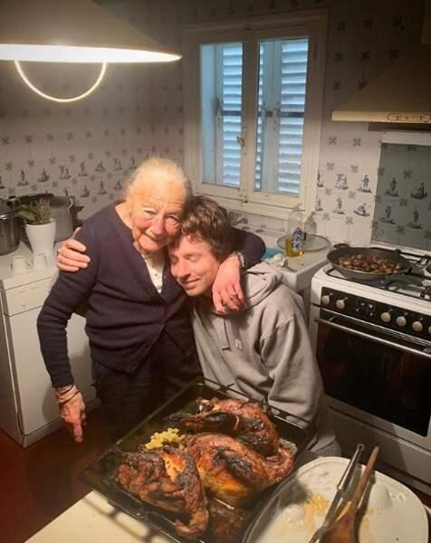 Jean Imbert et sa grand-mère ont (encore) fait à manger.