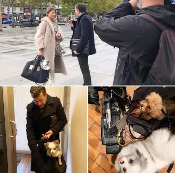 """Sur Instagram, Stéphane Plaza aime partager les coulisses des tournages de son émission """"Recherche appartement ou maison""""..."""
